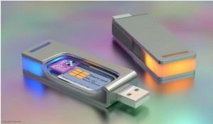 stockage de documents sur clé USB