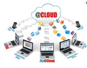 stockage de données, musiques, vidéos sur cloud